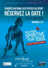 CONGRES NATIONAL DES OFFICES DU SPORT 2020 ON VOUS ATTEND